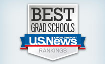 Graphic that says Best Grad Schools U.S. News & World Report Rankings